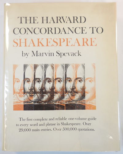 Image for The Harvard Concordance to Shakespeare