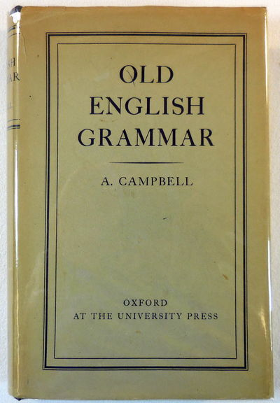 Image for Old English Grammar