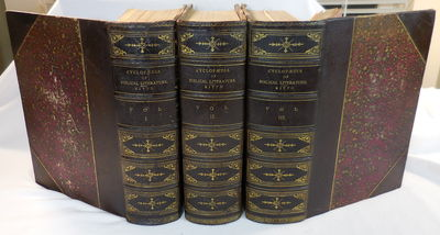 Image for A Cyclopaedia of Biblical Literature. In Three Volumes. Third Edition
