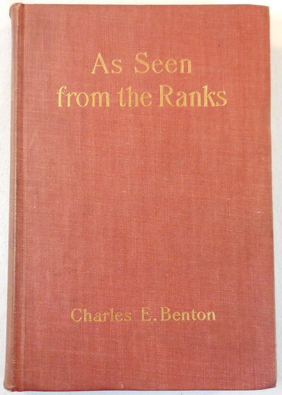 Image for As Seen From the Ranks: A Boy in the Civil War