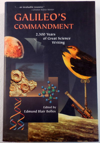 Image for Galileo's Commandment: 2,500 Years of Great Science Writing