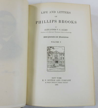 Image for Life and Letters of Phillips Brooks. In Three Volumes