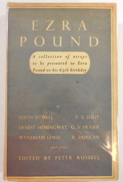 Image for Ezra Pound. A Collection of Essays Edited By Peter Russell to be Presented to Ezra Pound on His Sixty-Fifth Birthday