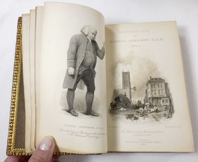 Image for The Life of Samuel Johnson, LL.D., Including a Journal of His Tour to the Hebrides...Two Supplementary Volumes of Johnsoniana... In Ten Volumes
