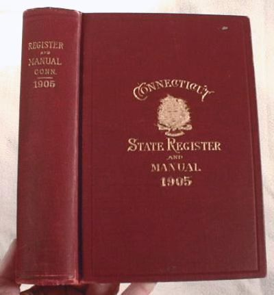 Image for Register and Manual of the State of Connecticut 1905