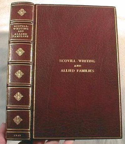 Image for Scovill-Whiting and Allied Families: Genealogical, Biographical.