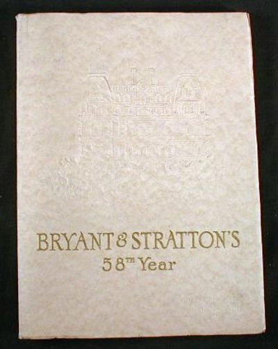 Image for Bryant & Stratton's 58th Year Book