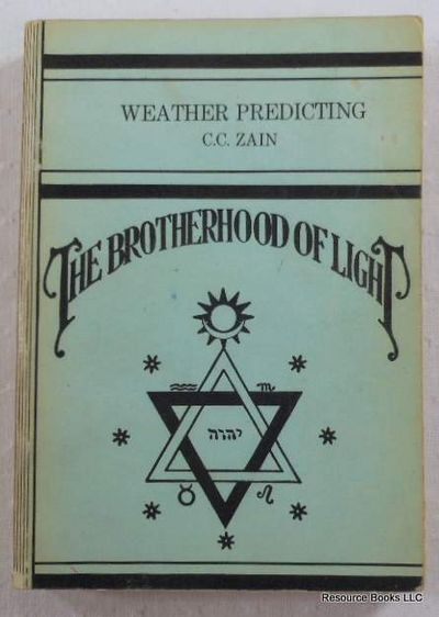 Image for Weather Predicting.  The Brotherhood of Light - Church of Light No. XV