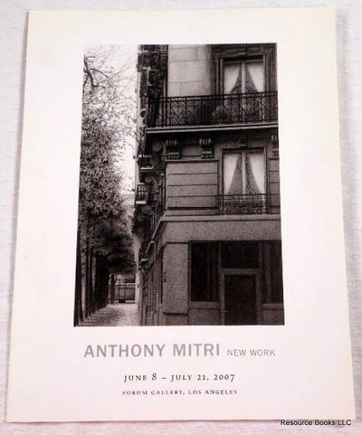 Image for Anthony Mitri - New Work. Forum Gallery Los Angeles June 8 - July 21, 2007