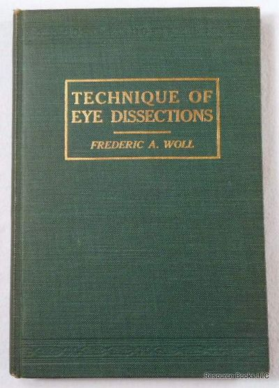 Image for Technique of Eye Dissctions