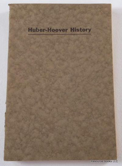 Image for The Huber-Hoover Family History