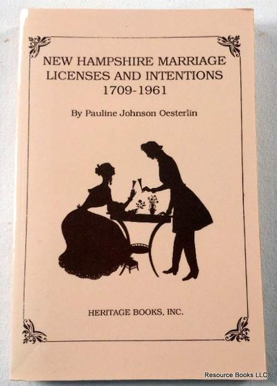 Image for New Hampshire Marriage Licenses and Intentions, 1709-1961