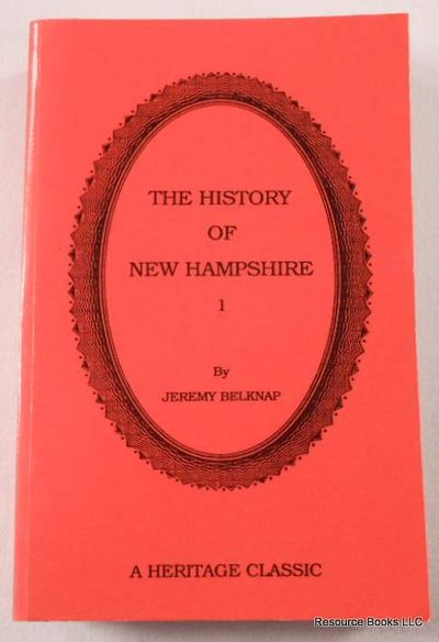 Image for The History of New Hampshire. Volume I