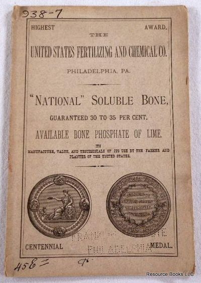 "Image for Catalog:  The United States Fertilizing and Chemical Co., ""National"" Soluable Bone"