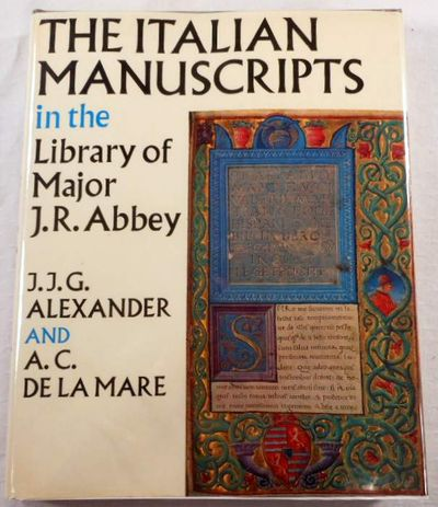 Image for Italian Manuscripts in the Library of Major J.R. Abbey