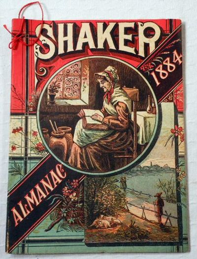 Image for Shaker Family Almanac 1884