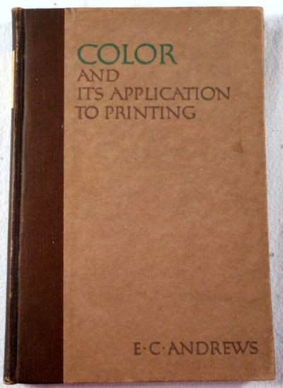 Image for Color and Its Application to Printing