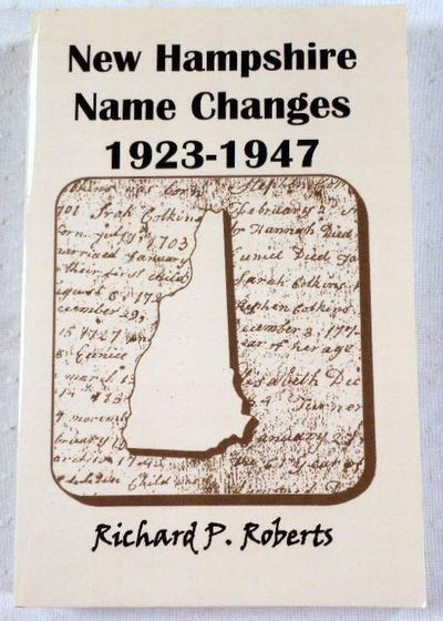 Image for New Hampshire Name Changes, 1923-1947